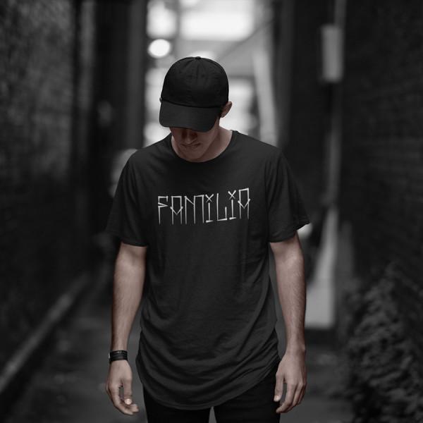 Dj Clay Familia Black T-Shirt